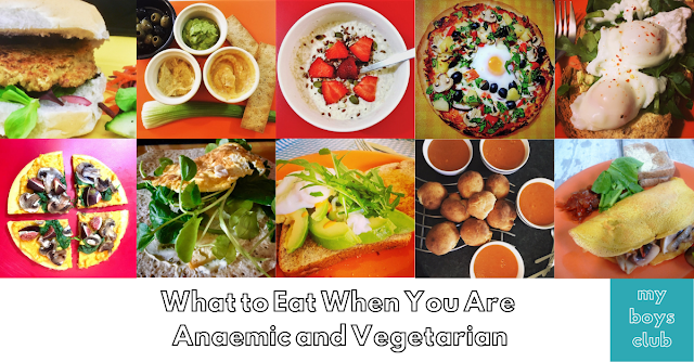 What to Eat When You Are Anaemic and Vegetarian