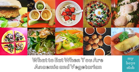 What Food to Eat When You Are Anaemic and Vegetarian