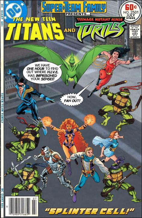 Teen Titans Vs Teenage Mutant Ninja Turtles
