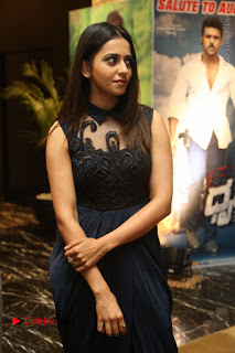 Actress Rakul Preet Singh Stills in Beautiful Blue Long Dress at Dhruva Salute to Audience Event  0033.JPG