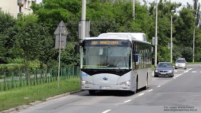 BYD K9 w Krakowie