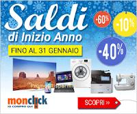 Logo Saldi fino a 700 euro su elettrodomestici, Smartphone, Tv, stampanti e tanto altro
