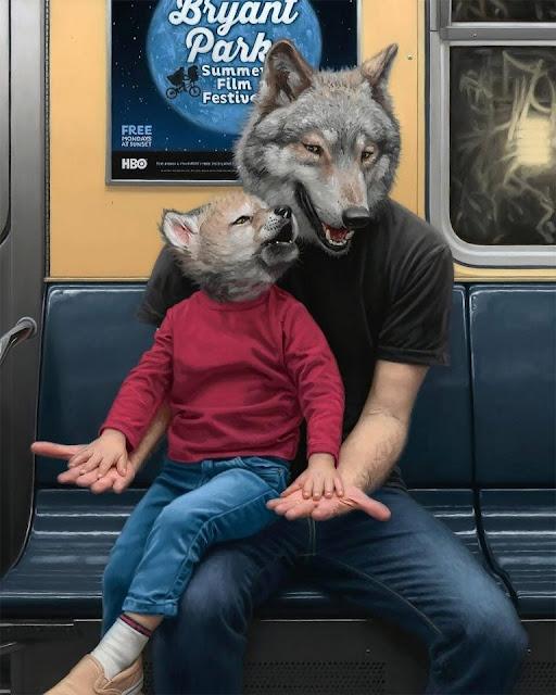 New York un Zoológico sin jaulas Las pinturas surrealistas de Matthew Grabelsky