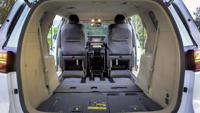 All New Kia Sedona SX Limited 2016 car used interior view