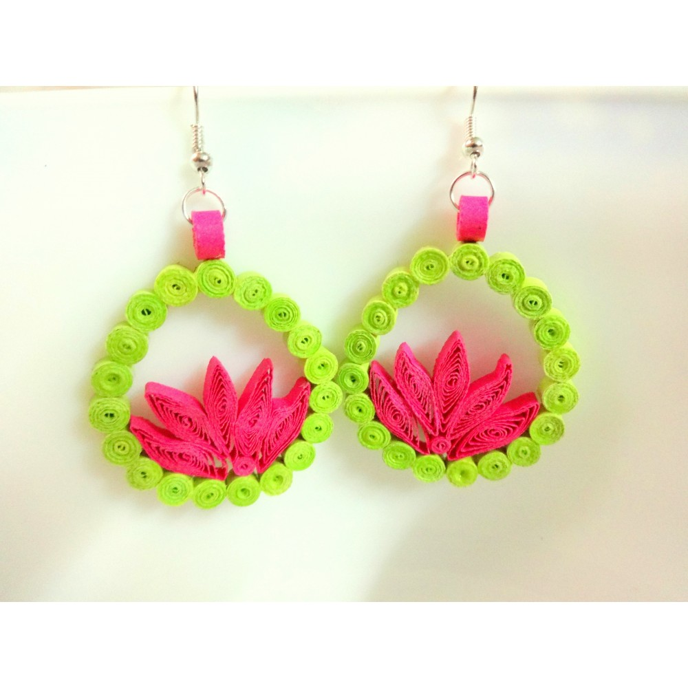 Quilling Earrings Designs Images : Earrings - Quilling designs