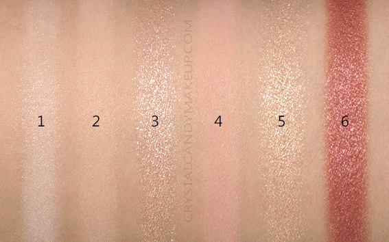 L'Oreal Paradise Enchanted Scented Eyeshadow Palette Swatches