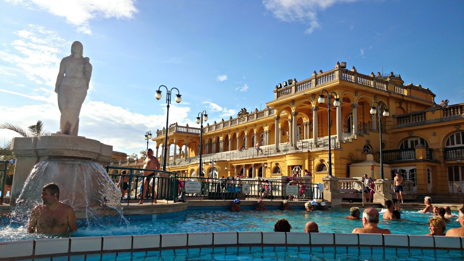 szechenyi thermal baths budapest