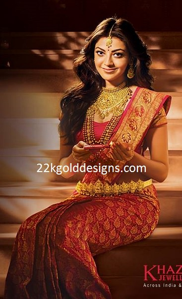 Kajal in Latest Khazana Festive Jewellery Ad