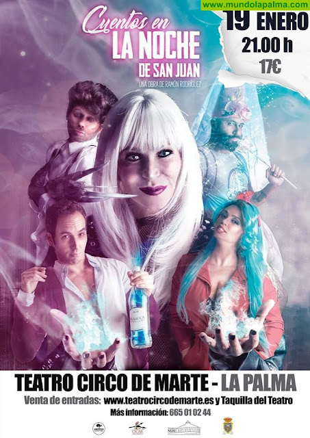 """Antonia San Juan presenta """"Cuentos en La Noche de San Juan"""" en el Teatro Crico de Marte"""