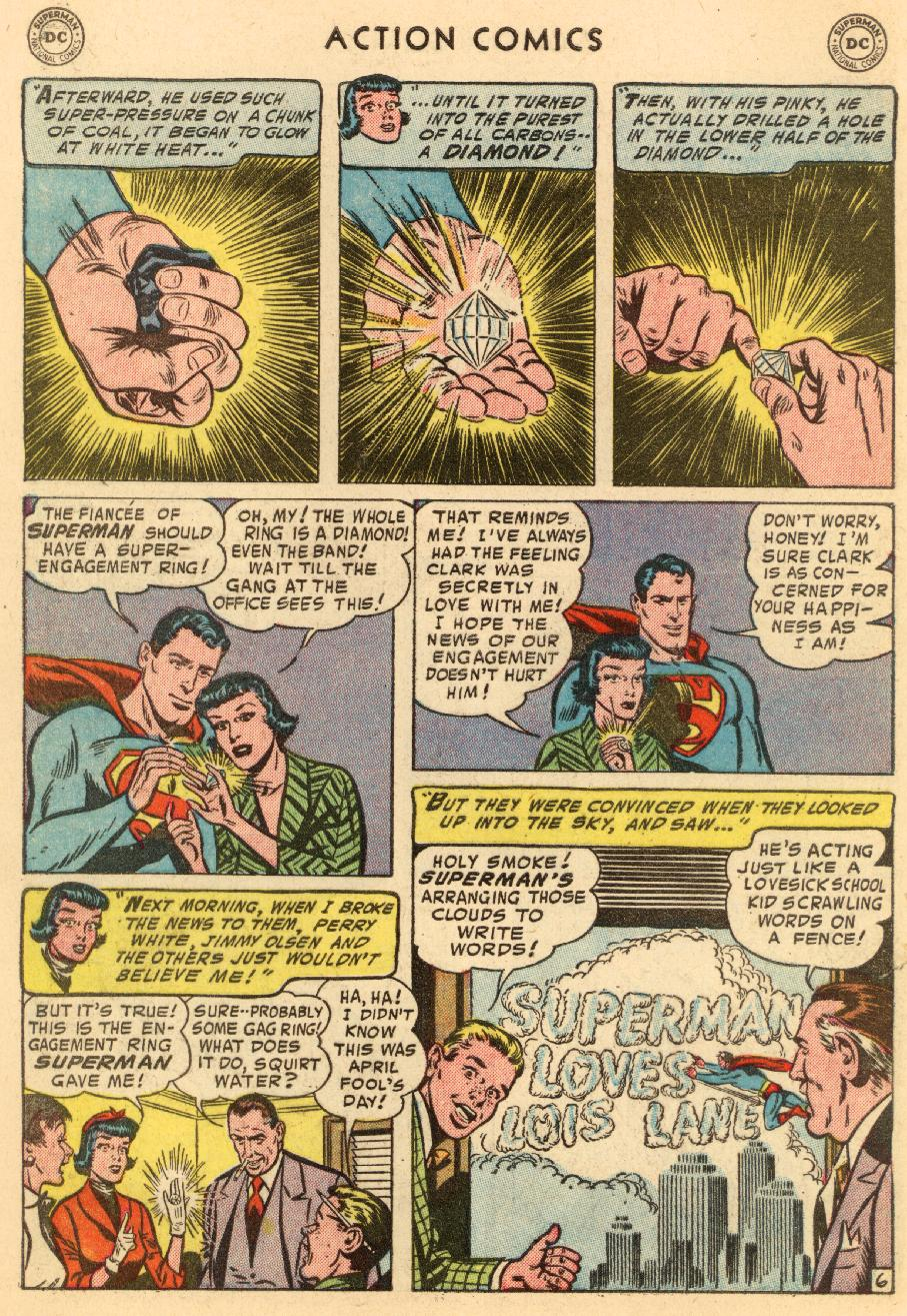 Read online Action Comics (1938) comic -  Issue #206 - 8
