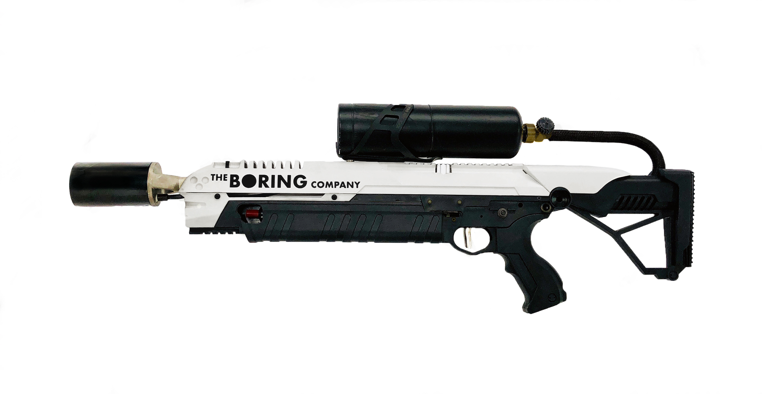 Ein Flammenwerfer für Jedermann von Elon Musk | The Boring Company Flamethrower