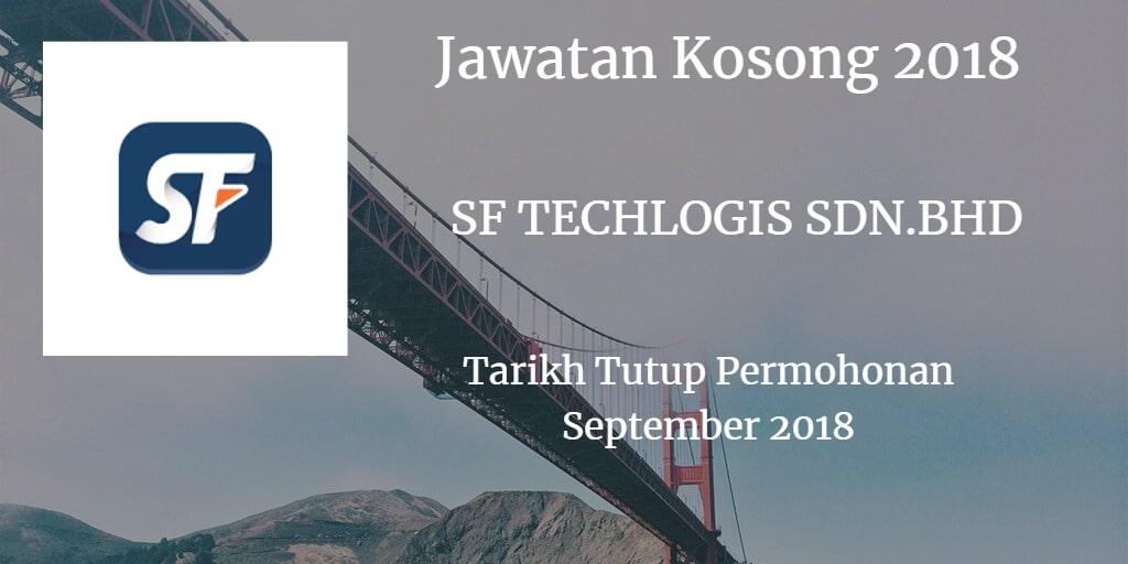 Jawatan Kosong SF TECHLOGIS SDN.BHD September 2018