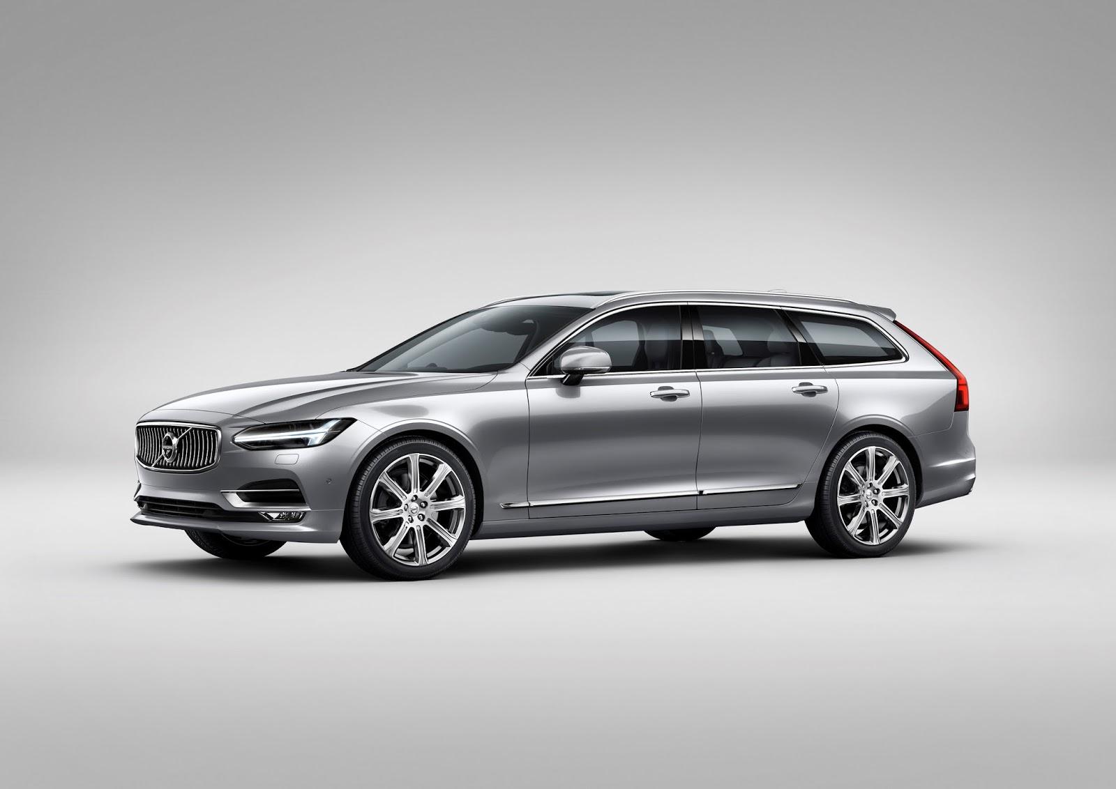 NEO%2BVOLVO%2BV90 1 Το V90 είναι το πιο όμορφο, το πιο ασφαλές station wagon και το πιο... Volvo Station Wagon, Volvo, Volvo V90