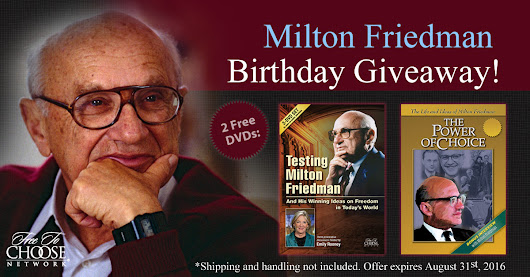 Remembering Milton Friedman DVD Giveaway