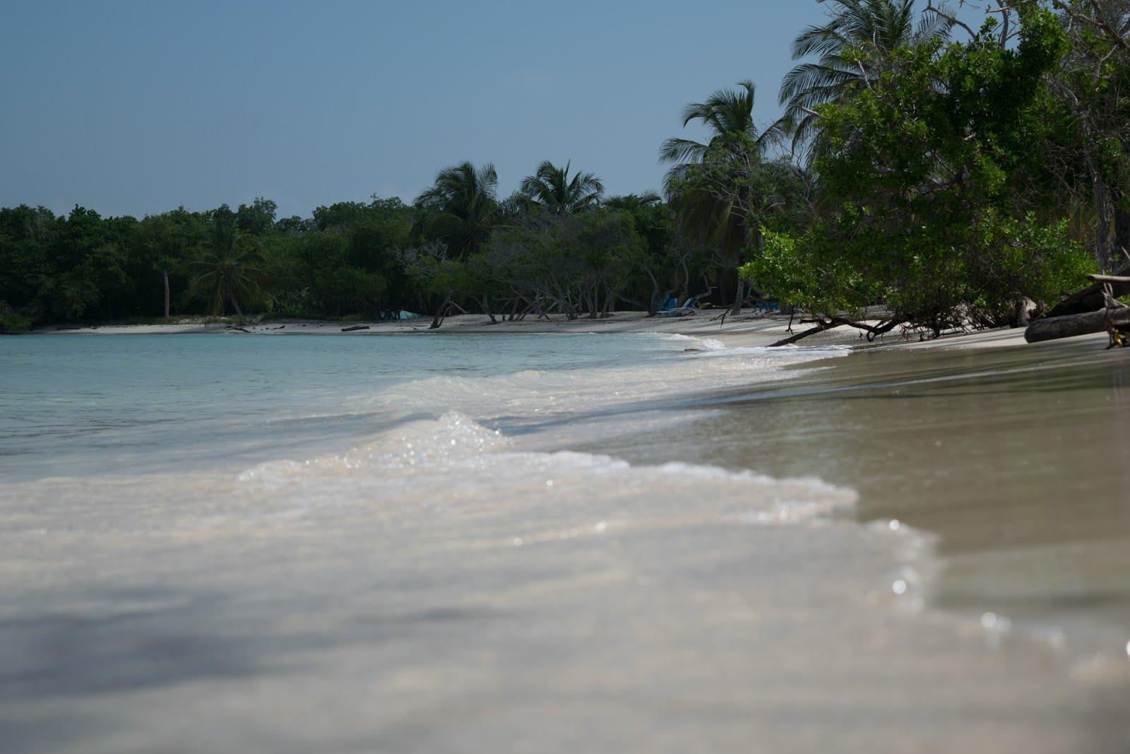 praia agua azul isla baru cartagena de indias
