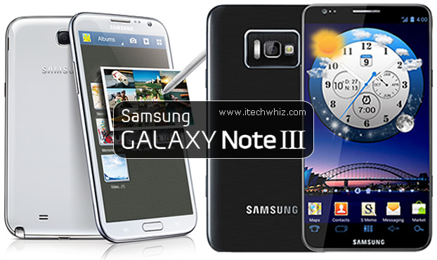 Samsung Galaxy Note III Specs and Features