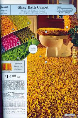 Sears Bath Shag Carpet