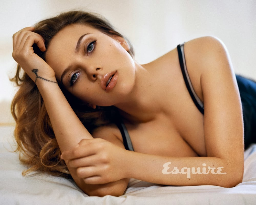 Scarlett Johansson for Esquire 2013
