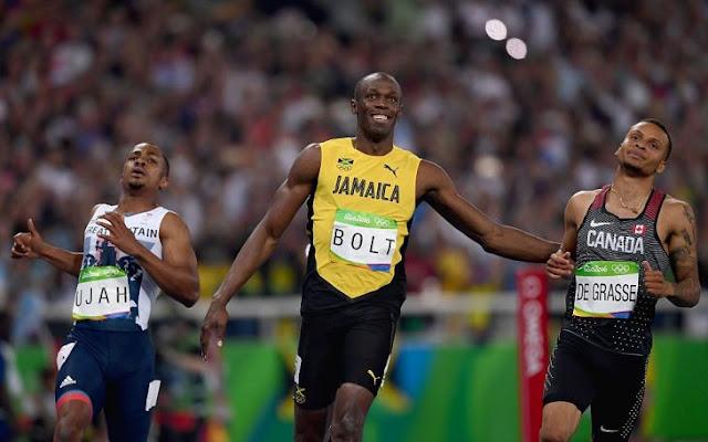 Bolt sonríe y gana carrera: debe ser frustrante para los otros