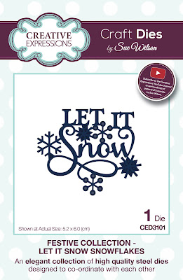 Festive Collection Let It Snow Die - CED3101