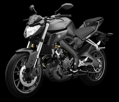 2016 Yamaha MT 125 ABS left side front image