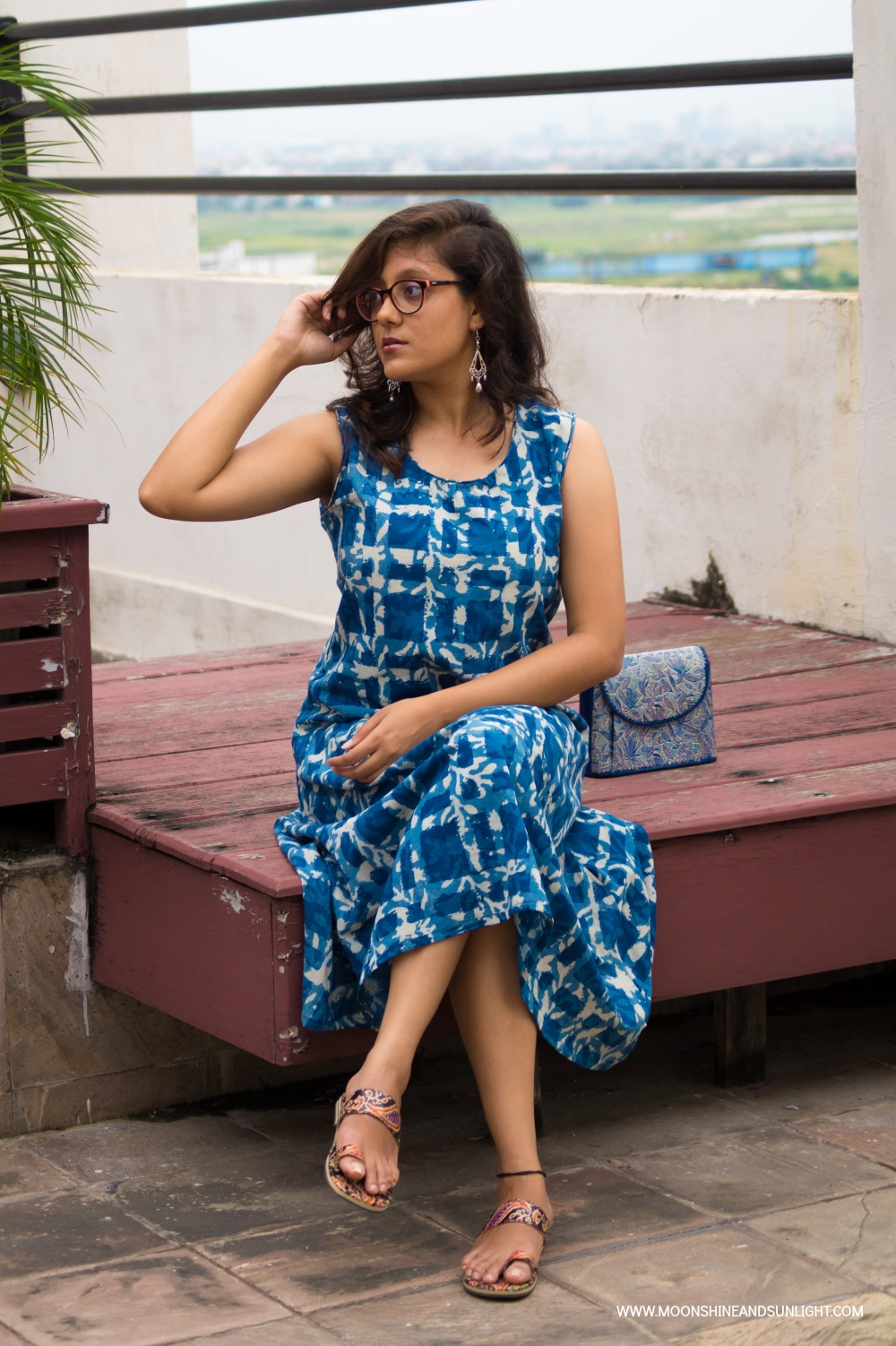 Bangalore fashion Blogger, Handmade dress