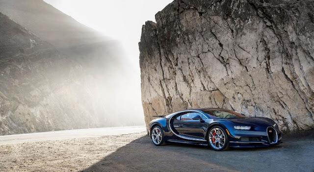 Bugatti Chiron - Un hyper auto que alcanza velocidades extremas