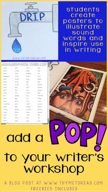 Teaching Onomatopoeia: an exciting POP to writer's workshop