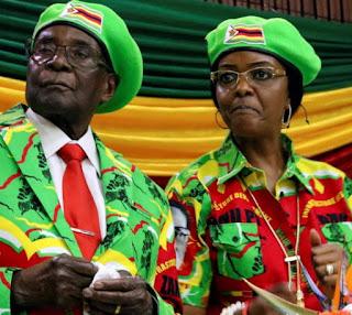 4 activists booed grace mugabe
