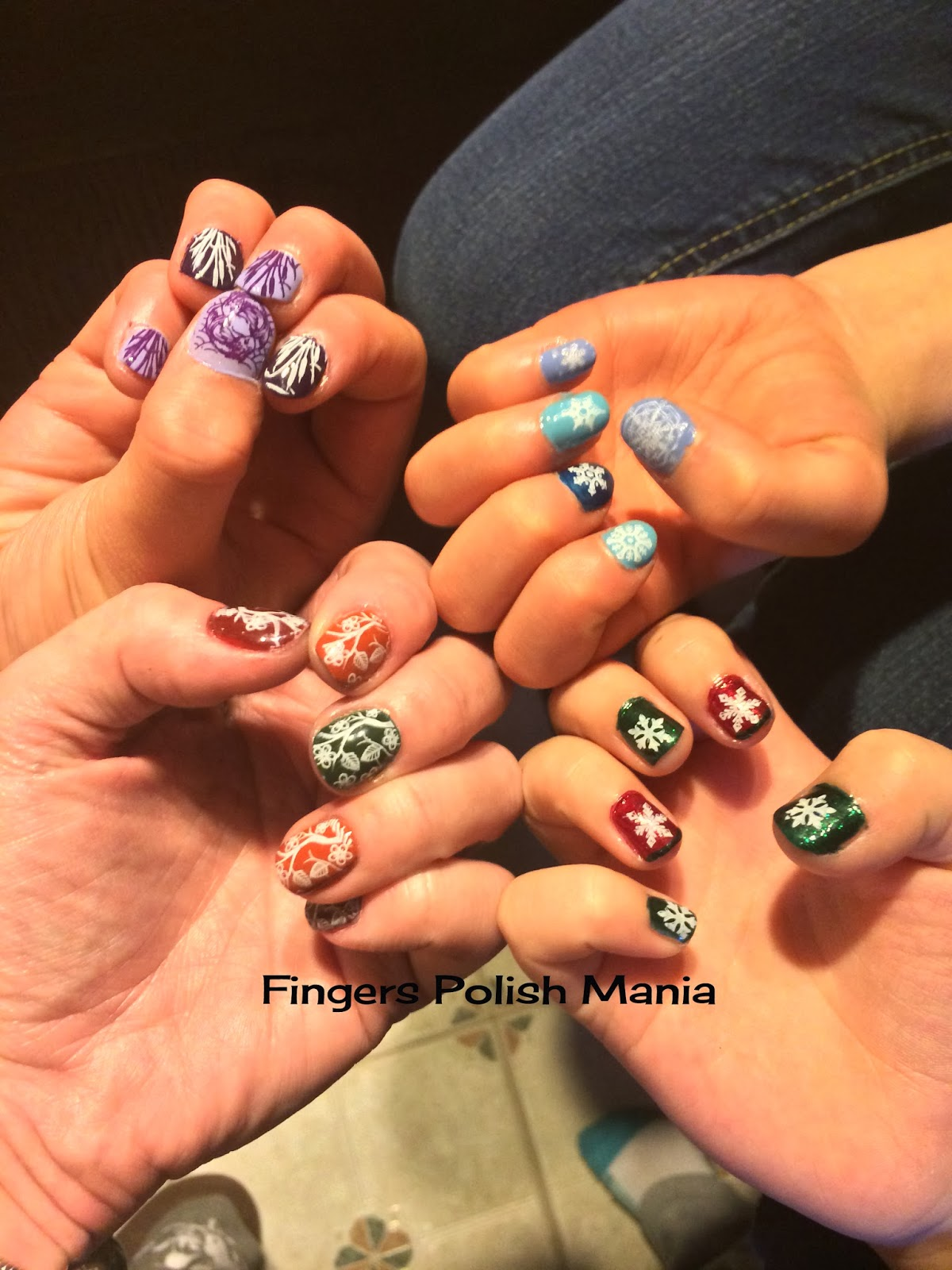 fingers polish mania: Family Nails 1