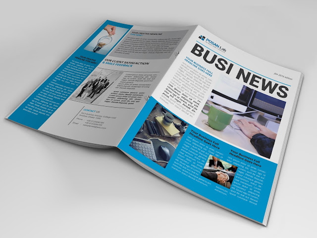 Newsletter, brochure, professional, profile, corporate, business profile 2017