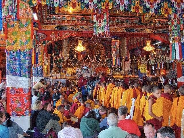 Kopan Monastery Main Gompa