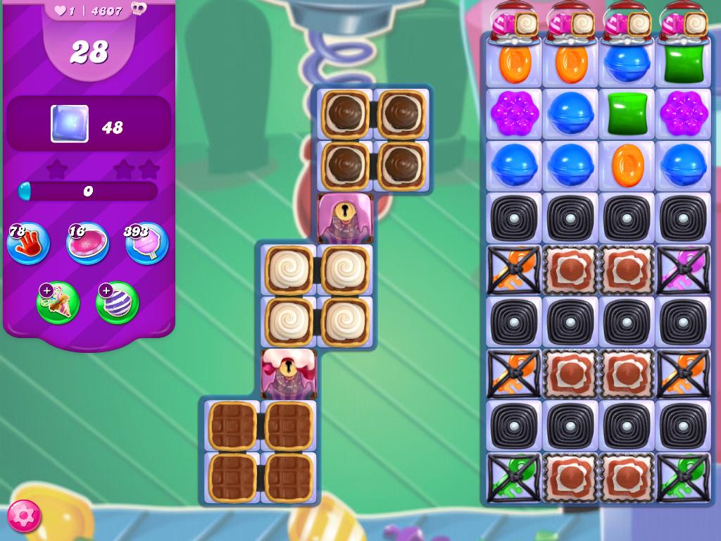 Candy Crush Saga level 4607