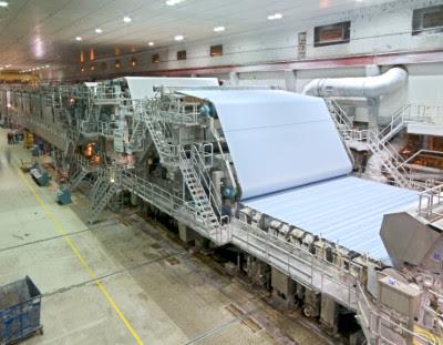 Máy giấy trong sản xuất giấy
