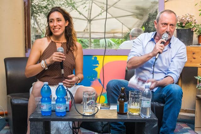Francesca Vecchioni e Marco Pomar