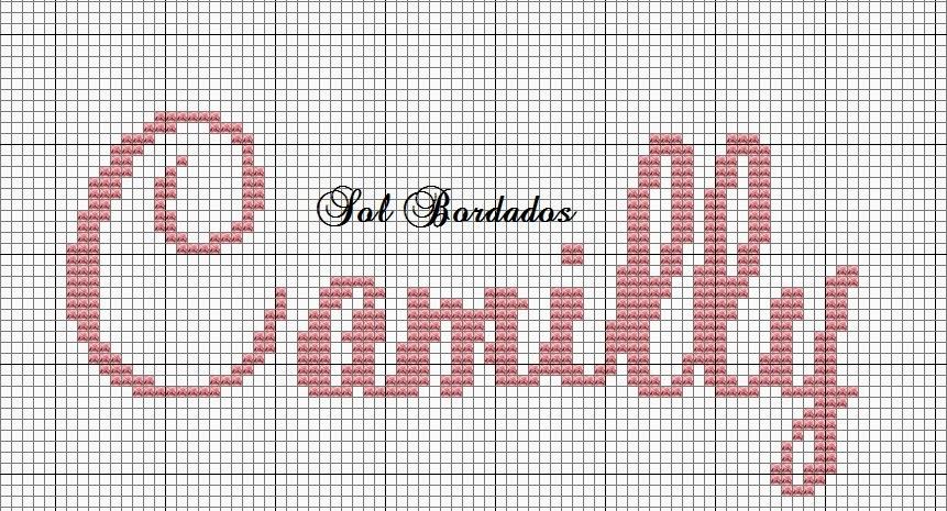 Camillyjpg (861×465) ponto cruz Pinterest Anna - graph paper