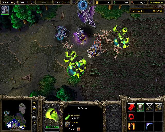 Warcraft 3: Reign of Chaos Infernal Screenshot