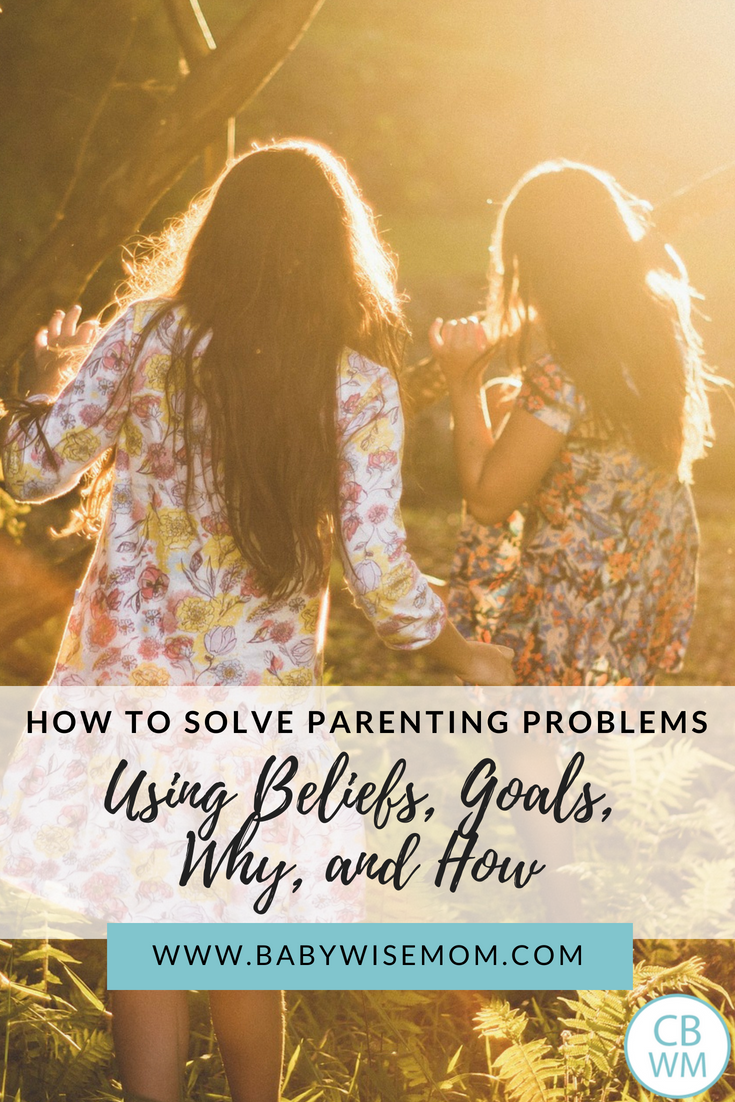 How to Solve Your Parenting Problems Using Beliefs, Goals, Why, and How