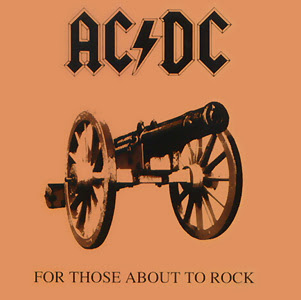 AC/DC For Those About To Rock 1981