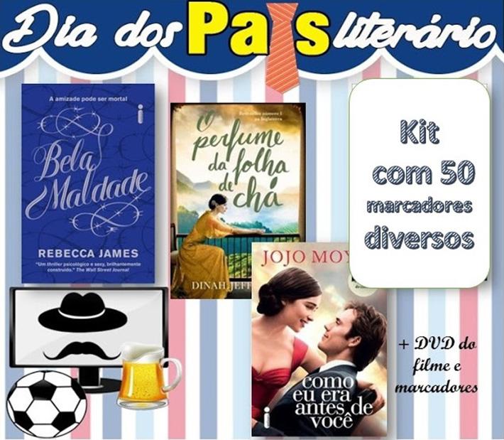 Sorteio: Dia dos Pais Literário - Concorra a 5 kits cheios de livros