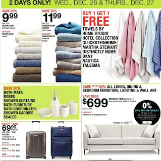 Home Outfitters Flyer Boxing Day Blowout! December 26 – 27, 2018