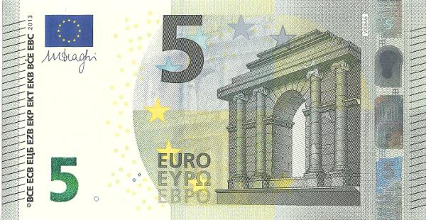 Dedais da Amélia: Notas de Euro