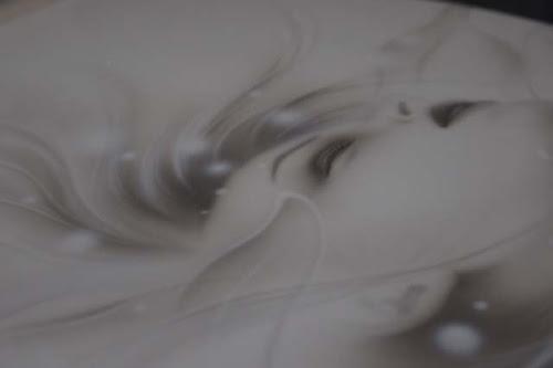 0 - カスタムペイント工程 便座 エアブラシ ホワイト