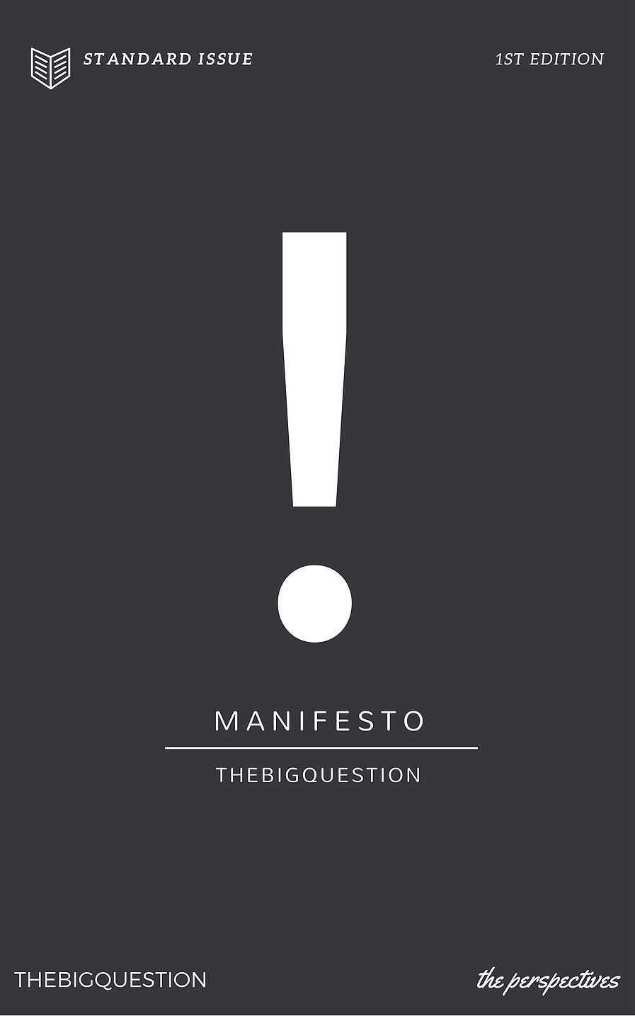 Click to get your copy of 'The Big Question Manifesto'!
