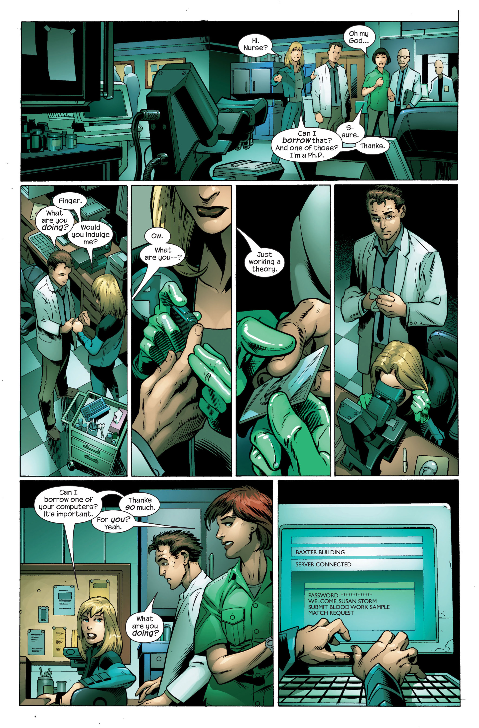 Read online Ultimate Spider-Man (2000) comic -  Issue #103 - 6