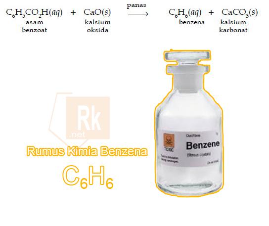 Rumus Kimia Benzena