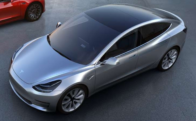 Vehículo Tesla Model 3