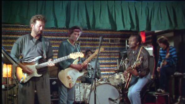 Un Clásico: Chuck Berry, Eric Clapton, Keith Richards jam