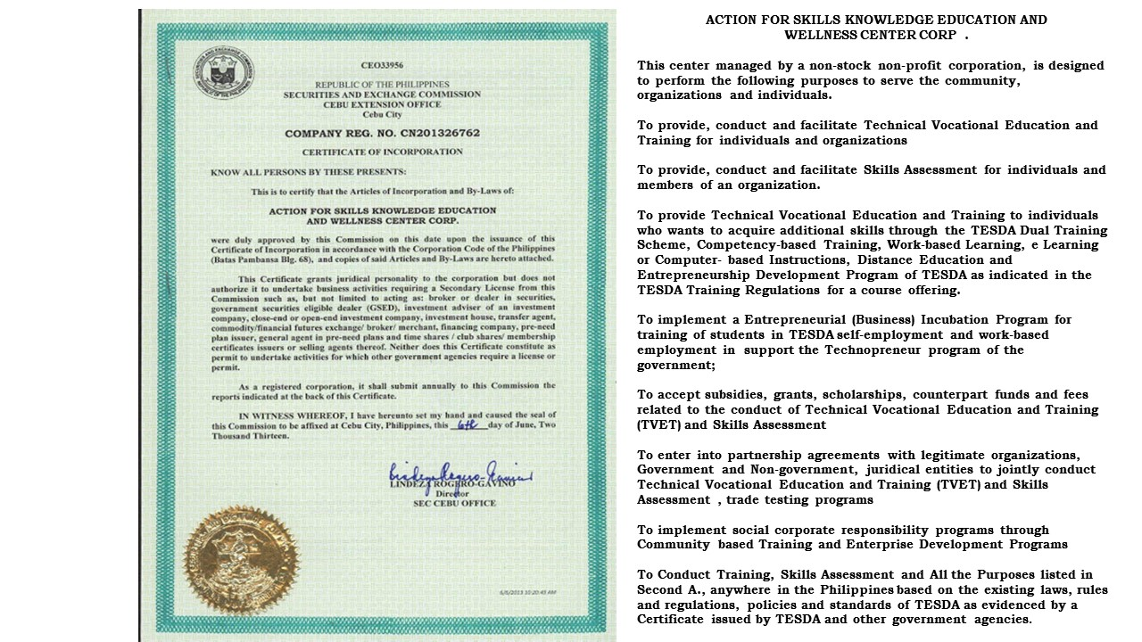 """corporation code of the philippines – this code shall be known as """"the corporation code of the philippines"""" sec 2 corporation defined – a corporation is an artificial being created by operation of law, having the right of succession and the powers, attributes and properties expressly authorized by law or incident to its existence sec 3 classes of corporations."""