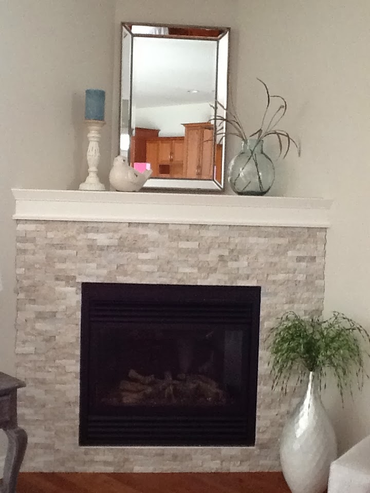 Room Candy: A Corner Fireplace Makeover